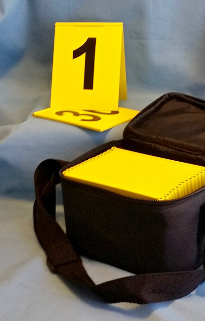 Evidence Tents - Hinged & Disposable Evidence Markers - Fire Investigator Supply