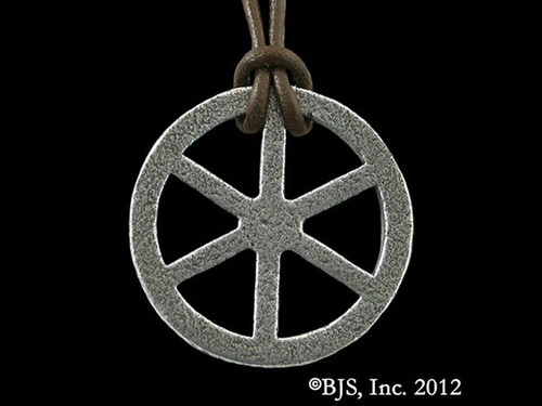 Telhu's Iron Wheel Pendant
