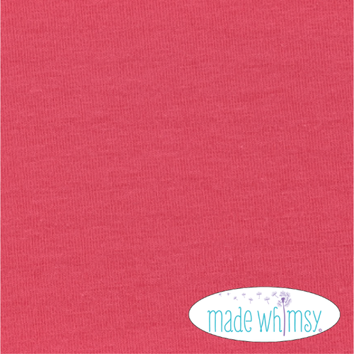 Knit Dark Coral 12oz Solid by Made Whimsy