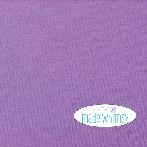 Lilac 12oz Knit by Made Whimsy