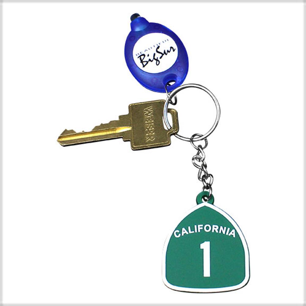 Highway 1 Keychain