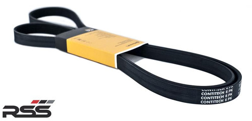 6PK Continental Serpentine Replacement Belt - Specifically sized for RSS  Pulley Kits 601 + 608