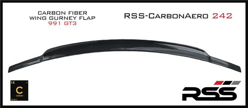242 RSS CarbonAero Rear Wing Extension (991.1GT3)