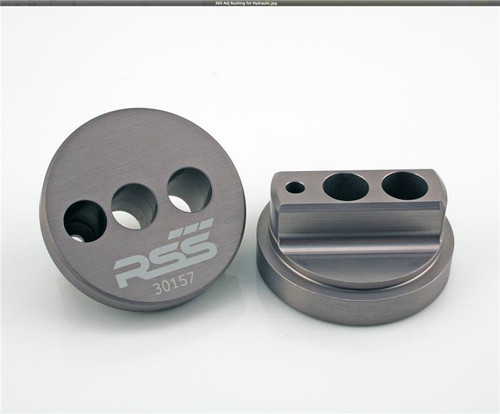 360  Thrust Arm Bushing/Puck - Castor Adjustable - Front Axle