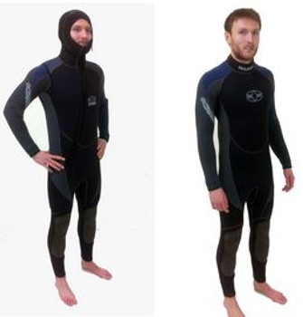 Full Wetsuit with Short-Sleeved & Short-Legged Tunic