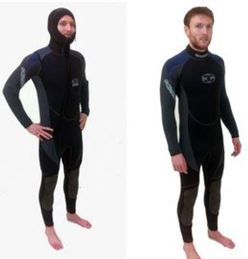 Full Wetsuit with Short-Sleeved & Short-Legged Tunic