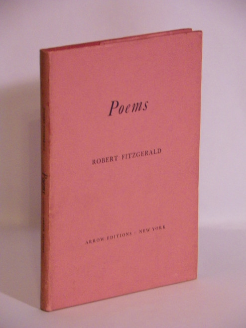 Poems - FIRST PRINTING