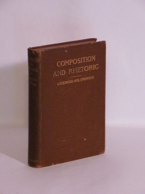 Composition and Rhetoric for Higher Schools