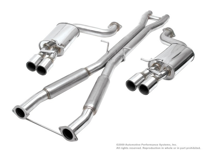 NEUSPEED Stainless Steel Cat-back Exhaust - 30.02.42