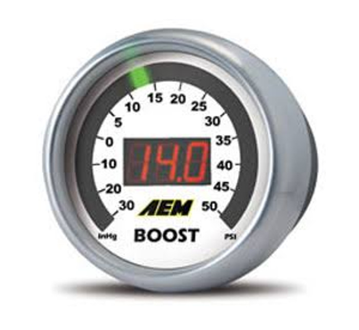 AEM 52mm Boost Digital Gauge -30-35psi - 30-4406