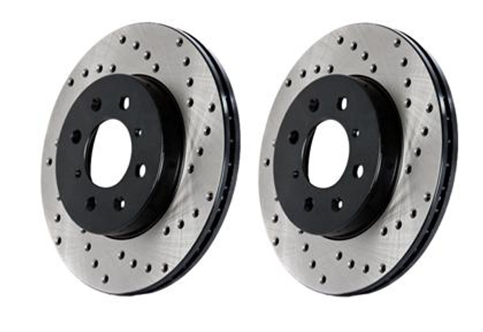 StopTech Drilled Sportstop Rotor - Rear Left