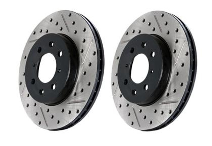 StopTech Drilled & Slotted Sportstop Rotor - Rear Right