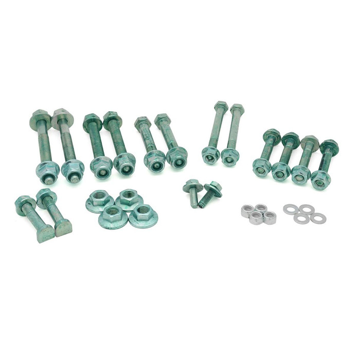 Control Arm Kit Hardware Kit, Steel Uprights