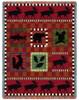 Adirondack Lodge Tapestry Throw PC1921-T