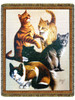 Cats Tapestry Throw by Jim Killen