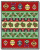 Christmas Banding Tapestry Throw