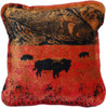 Denali Roaming Buffalo Pillow
