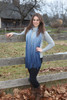 Kennebunk Home Valencia Denim Scarf by Bedford Cottage