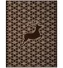 Biederlack Orion Cotton Hirschbock Deer Blanket