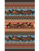 Wild Horses Oversized Towel drawing