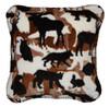 Theme-O-Flage Lodge Chocolate Pillow