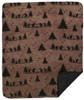 Bear Boogie/Black #916 50x60 Inch Throw Blanket