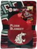 Washington State University WSU Twin Micro Plush Blanket