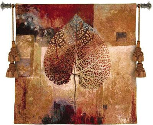 Abstract Autumn Tapestry Wall Hanging