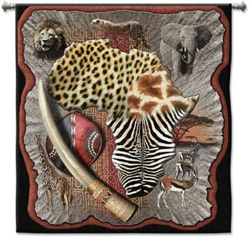 Africa Tapestry Wall Hanging PC-3628-WH