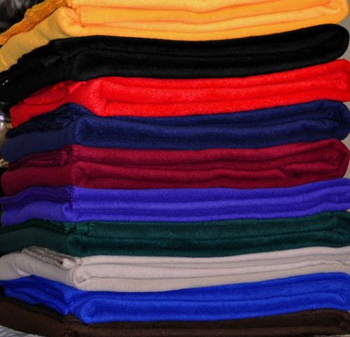 Basic Fleece Twin Blanket