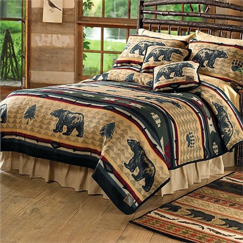 Bear Fever King Size Blanket plus Two Shams