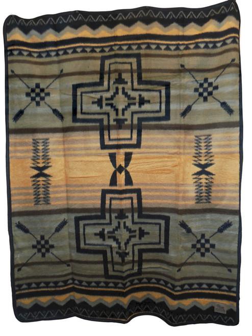 St Arrows Cross Twin Blanket CB2151TW