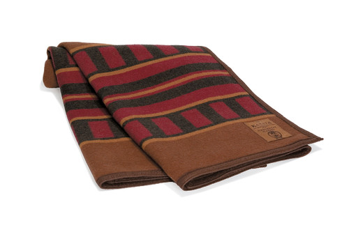 Canadian Pacific Railway Sleeping Car Wool Blanket