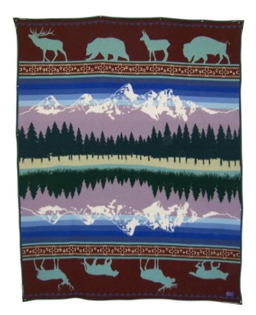 Grand Teton 25th Anniversary Blanket woven by Pendleton Woolen Mills