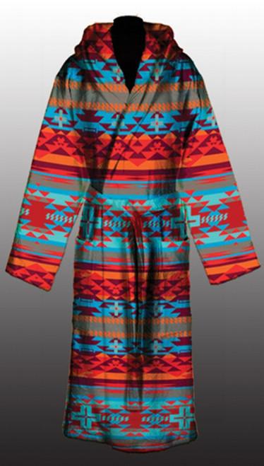 Sunset Rustic Cross Robe L/XL