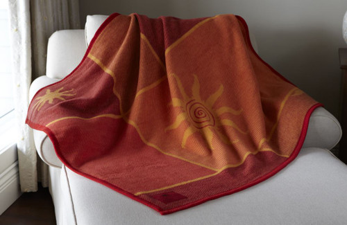 Biederlack Evening Sunburst Throw Blanket