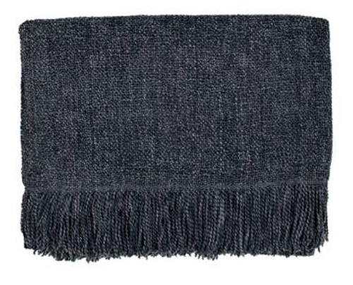 Kennebunk Home Serene throw blanket in Charcoal