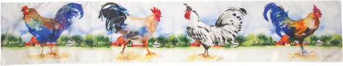 armland Roosters Table Runner