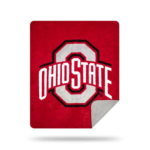 Ohio State Buckeyes Microplush Blanket by Denali