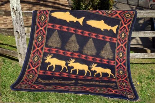 Cabin Fever Outdoor Adventure Blanket