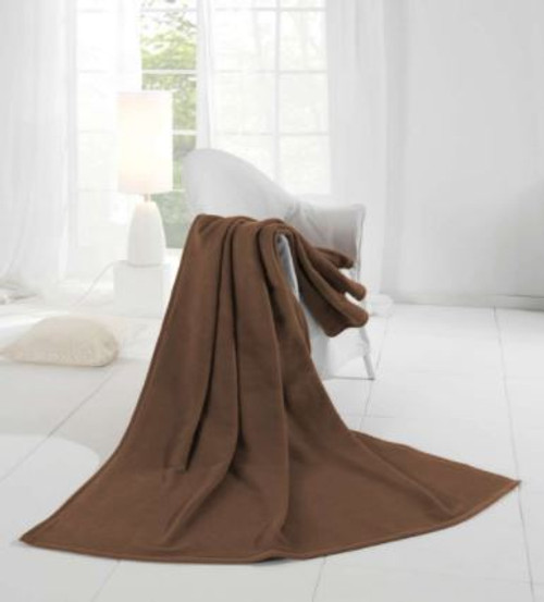 Schoko Chocolate Acrylic and Cotton Blanket