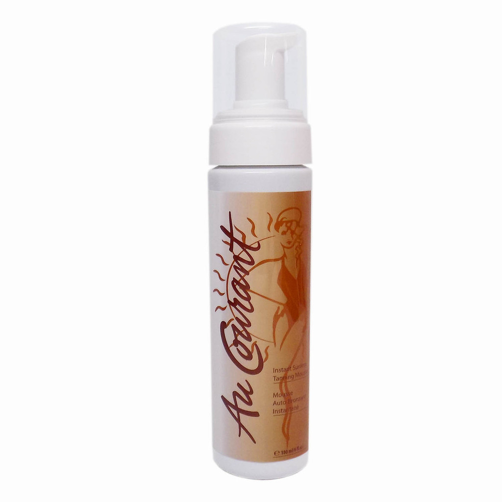 Au Courant INSTANT SUNLESS MOUSSE with Bronzer - 6 oz.