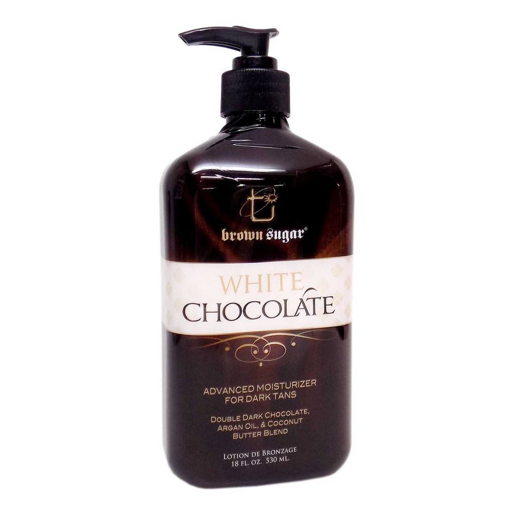 Brown Sugar WHITE CHOCOLATE Moisturizer for Tanners - 18 oz.