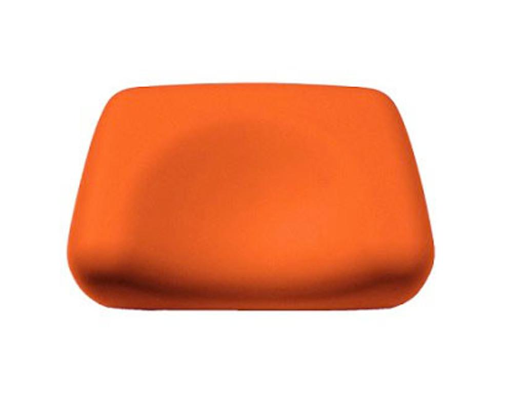 Foam Contoured Tanning Bed Pillow - Orange