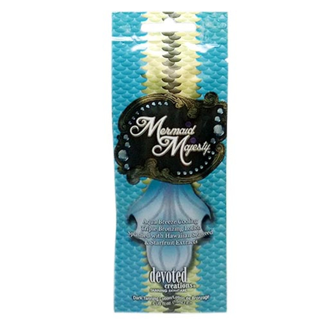 Devoted Creations MERMAID MAJESTY Cooling Bronzer - .5 oz. Packet