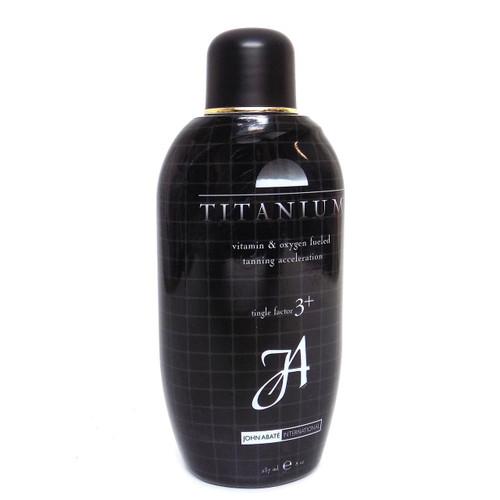 John Abate Titanium Vitamin & Oxygen Fueled Tanning Acceleration Lotion - 8 oz.