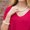Large Glass Pearl Necklace
