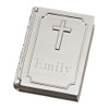 Personalized Bible Shaped Box