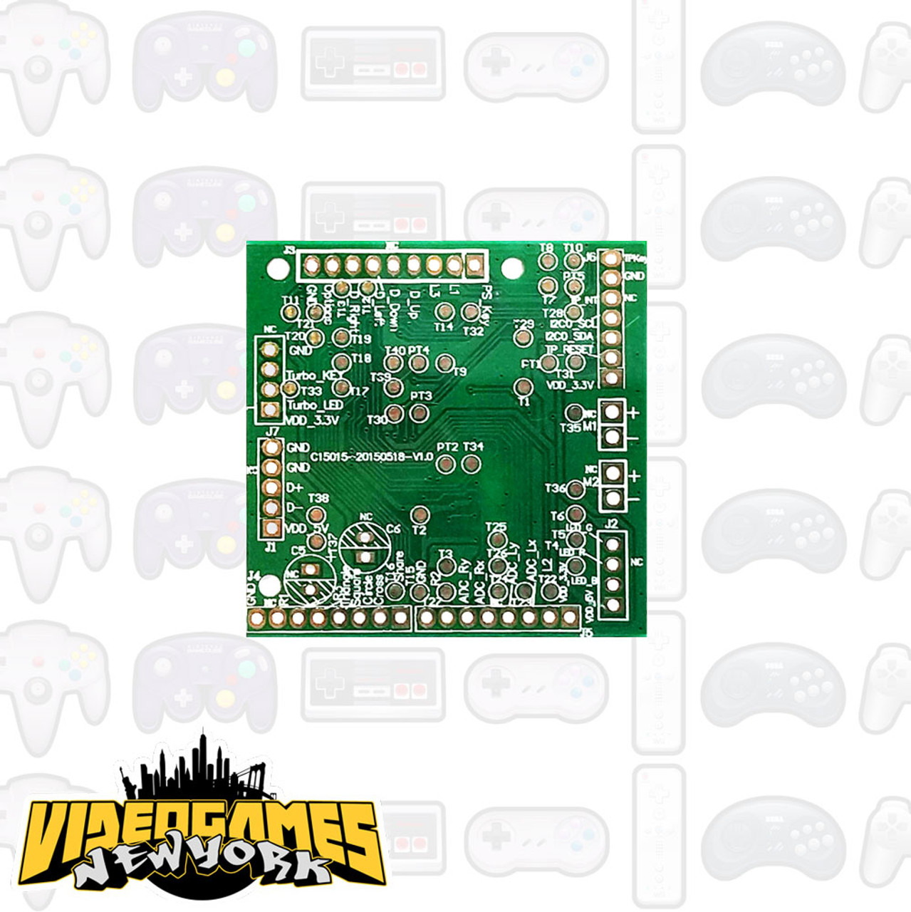 Brook PS3/PS4 Fighting Board PCB - Videogamesnewyork