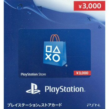 PSN 3000-YEN [JAPAN] POINT CARD